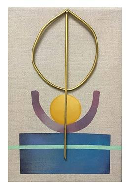 Auftragsmalerei Beispielbild modern abstrakt dekorativ